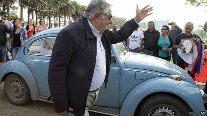 """El presidente de Uruguay, José """"Pepe"""" Mujica, informó este viernes"""
