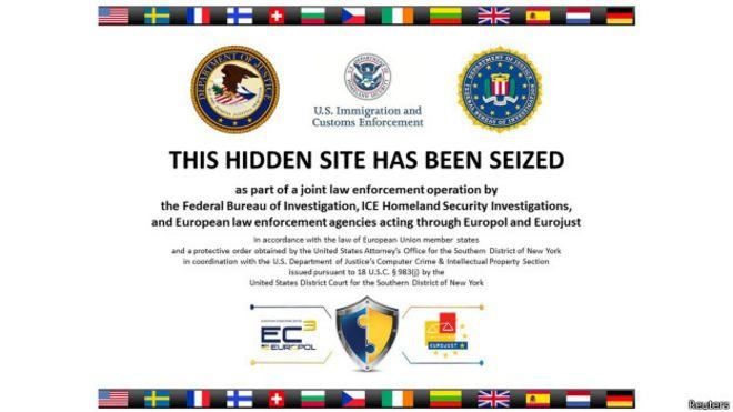 Anuncio del FBI y Europol