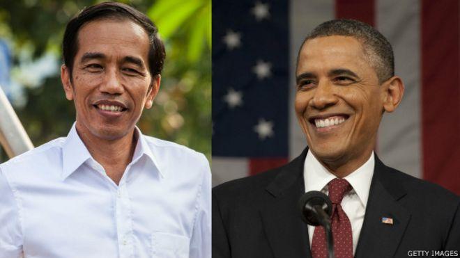 Jokowi dan Obama