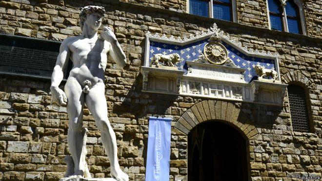 Estátua de David, em Florença, na Itália | Foto: Thinkstock
