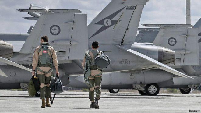 澳大利亚皇家空军飞行员(21/09/2014)
