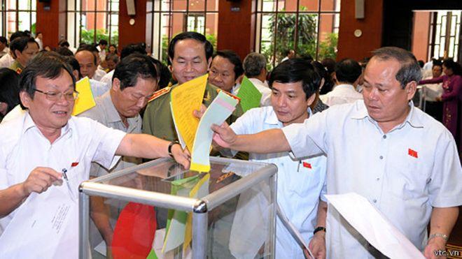 Bỏ phiếu tính nhiệm ở Quốc hội Việt Nam