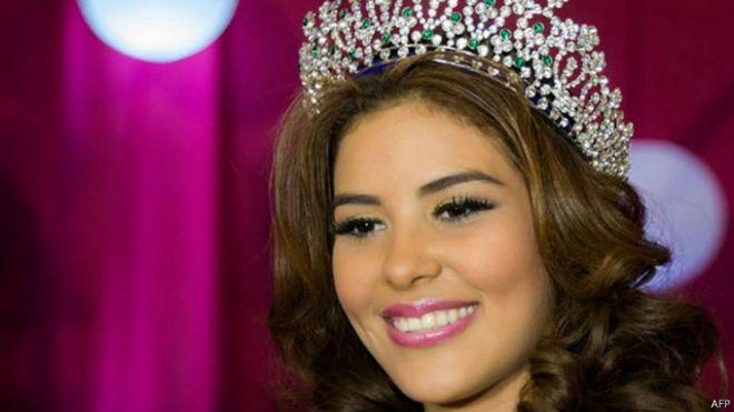 ملكة جمال هندوراس ماريا خوسيه الفريدو