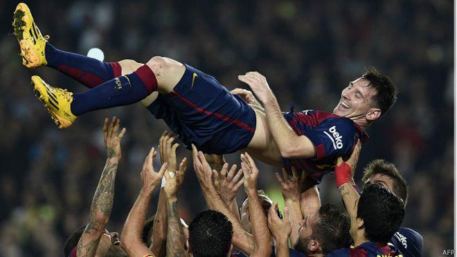 Messi y su semana fantástica con el gol