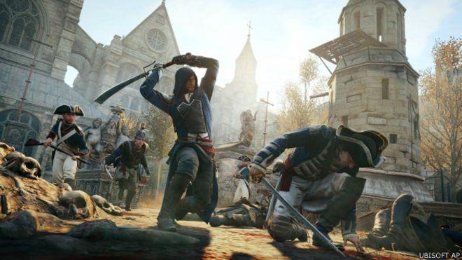 Imagen del videojuego Assasins Creed: Unity, de Ubisoft