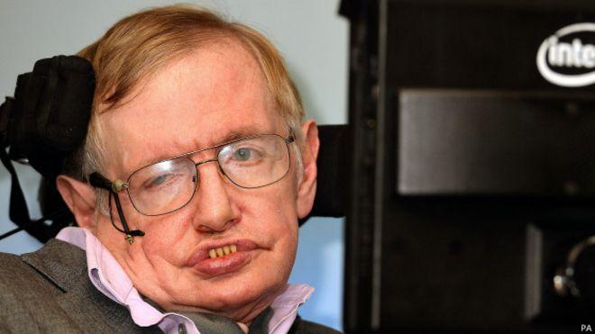 Stephen Hawking (PA)