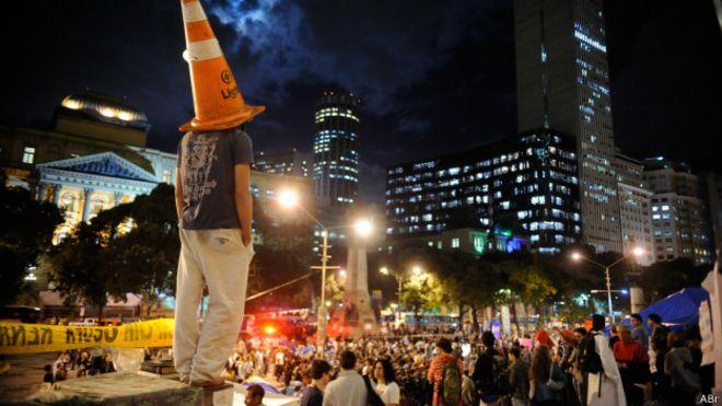 Protesto no Rio de Janeiro em agosto de 2013 | Foto: Fernando Frazão/ABr