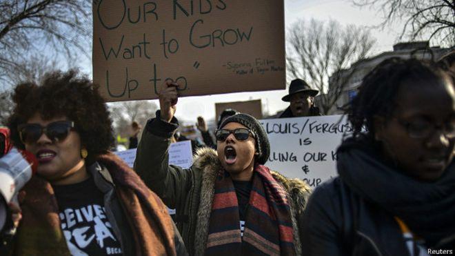 Protesta en DC