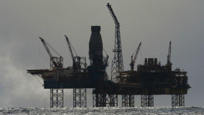 Plataforma petrolera