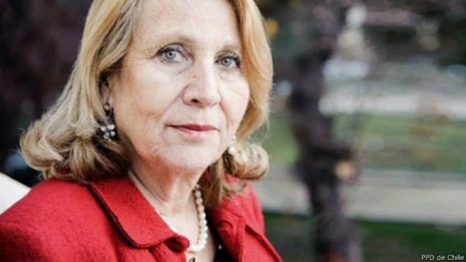 La ahora ex ministra de Salud de Chile, Helia Molina