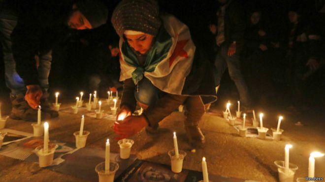 Guerra na Síria 'matou 76 mil em 2014'