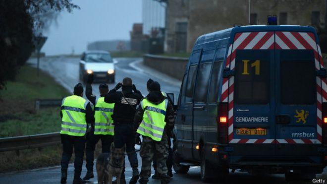Полиция в Даммартене