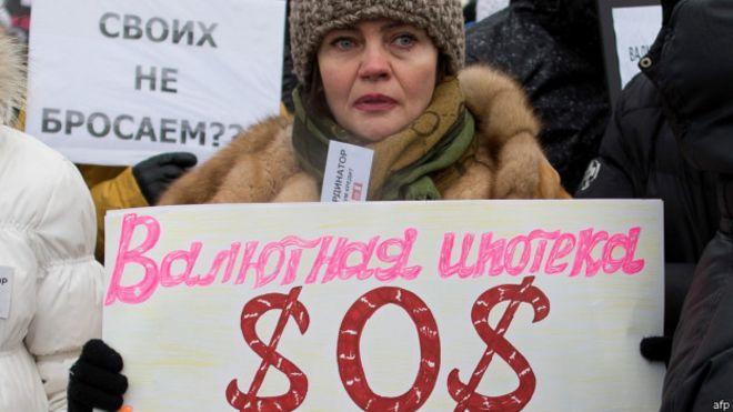 Manifestación en Rusia
