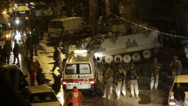 عالمي: عملية أمنية لأكبر لبناني يحتجز متشددون إسلاميون 150112105402_lebanon