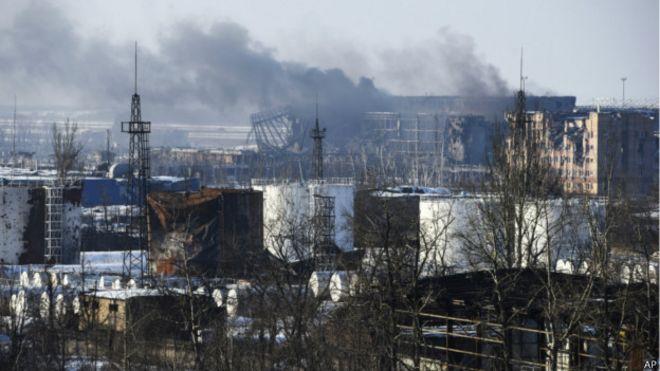 Nova escalada de violência põe em risco cessar-fogo na Ucrânia