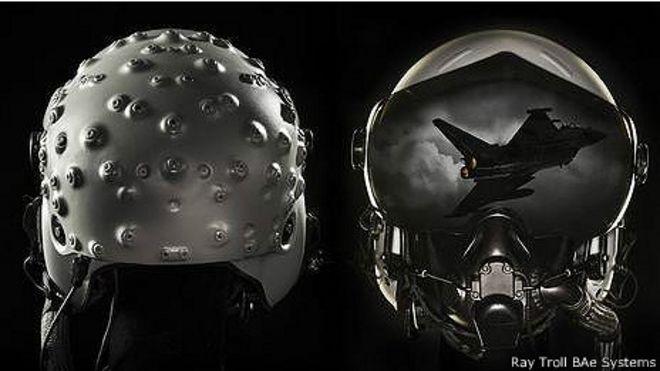 Новый шлем летчика-истребителя