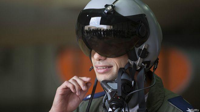 Израильский пилот самолета F16