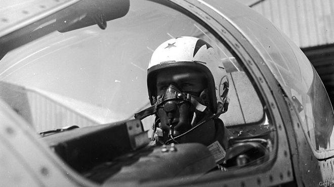 Пилот перехватчика, 1950-е
