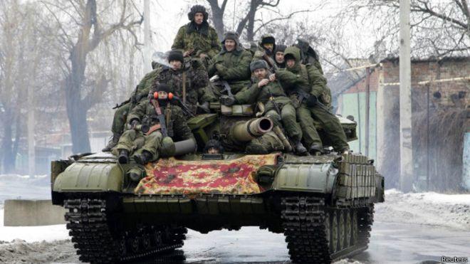 Rebeldes rejeitam negociações de paz e ameaçam ofensiva na Ucrânia