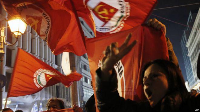 Adeptos de Syriza