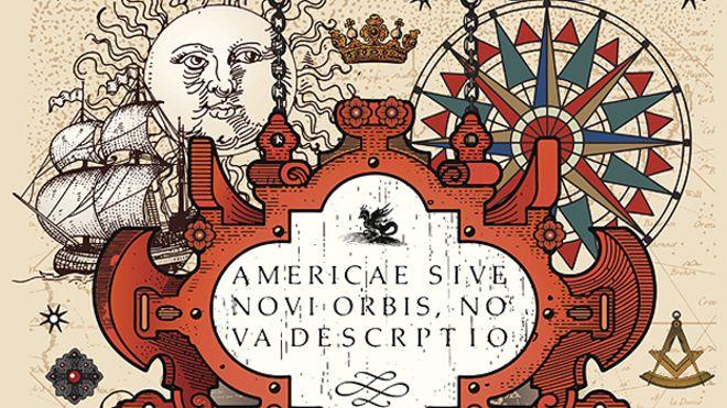 Dibujos alegóricos al descubrimiento de América