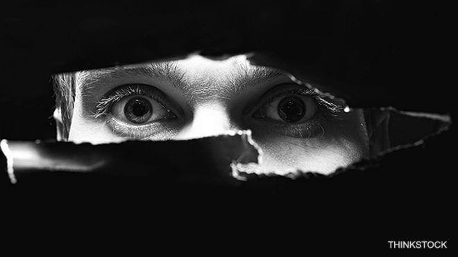 Foto genérica de un espía