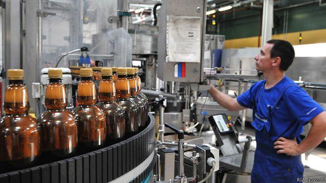 известные российские пивоваренные компании