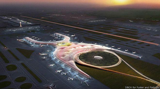 Международный аэропорт Мехико (Мексика).