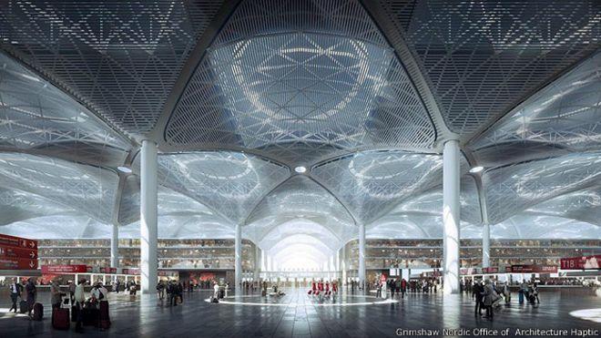 Новый аэропорт Стамбула (Турция)