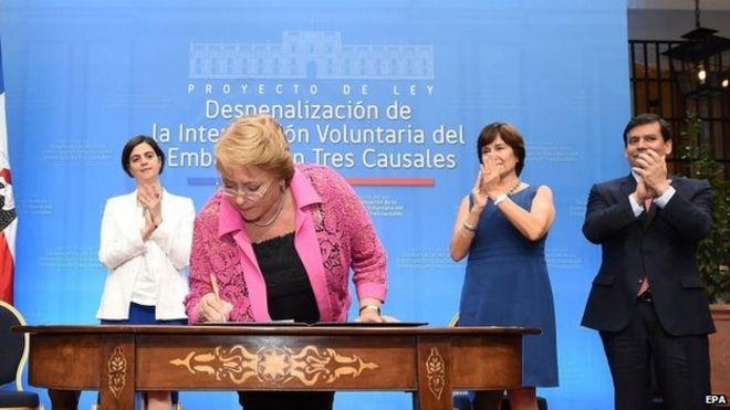 Michelle Bachelet | Foto: EPA