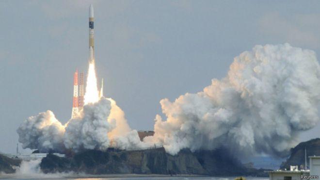日本發射情報收集衛星以做替補備用