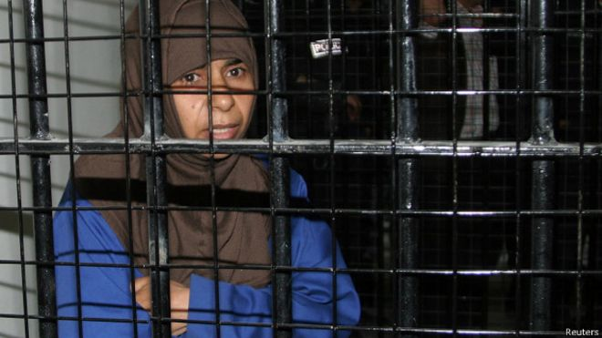 Sajida al-Rishawi (Foto: Reuters)