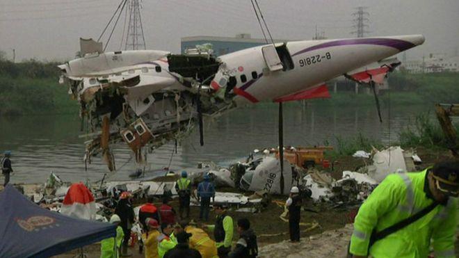 Tayvan'daki u�ak kazas�ndaki �ok pilot detay�