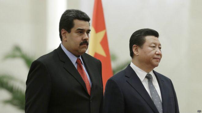 Nicolás Maduro y Xi Jinping