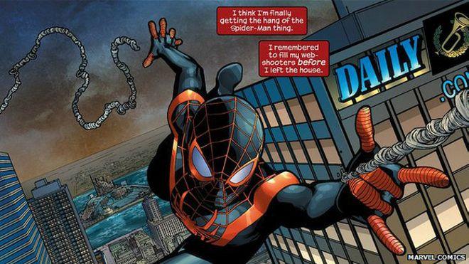 MundoSocial: ¿Será el próximo hombre araña negro e hispano? - BBC ...