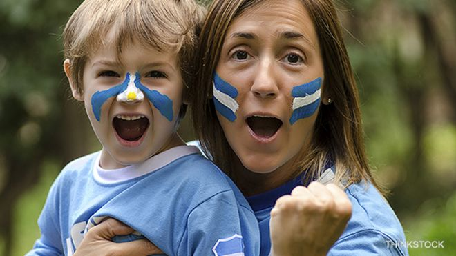 Fans argentinos
