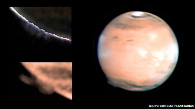Névoa misteriosa em Marte intriga cientistas