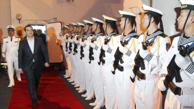 希臘總理冀參與海上絲綢之路: 爭取中方支持