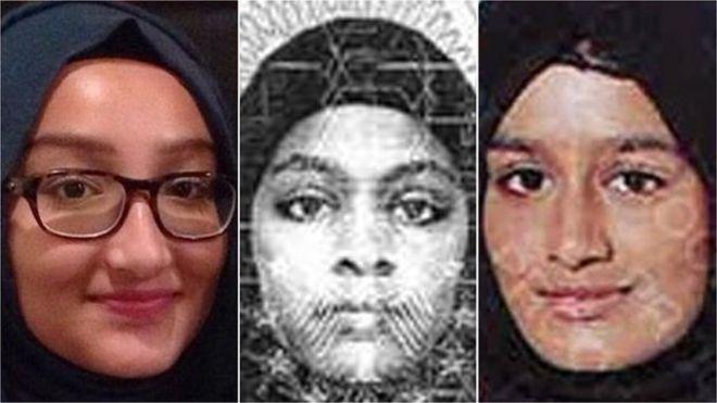 فتيات يرغبن في الانضمام الى الدولة الاسلامية