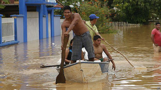 Inundación en Pando, Bolivia