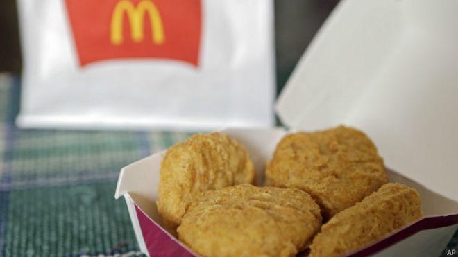 Pollo de McDonald