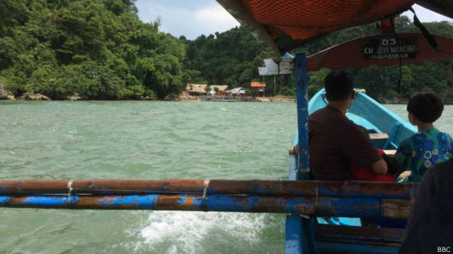 Ilha de Nusakambagan (Foto: BBC)