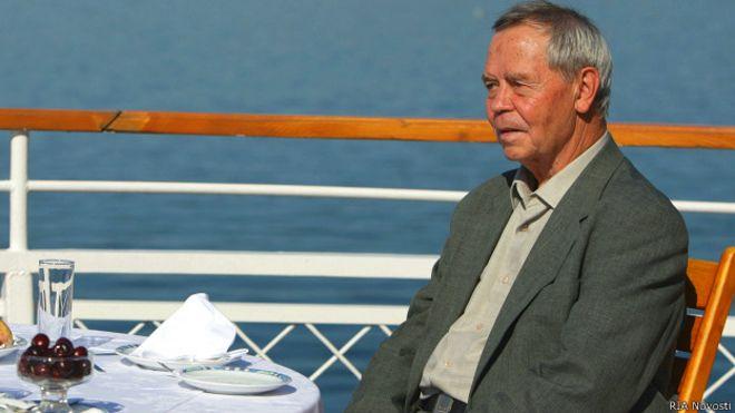 Валентин Распутин (2 августа 2009 года)