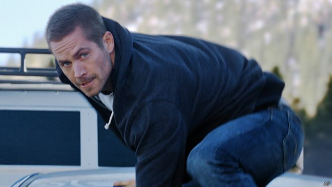 "Paul Walker en ""Furious 7"""