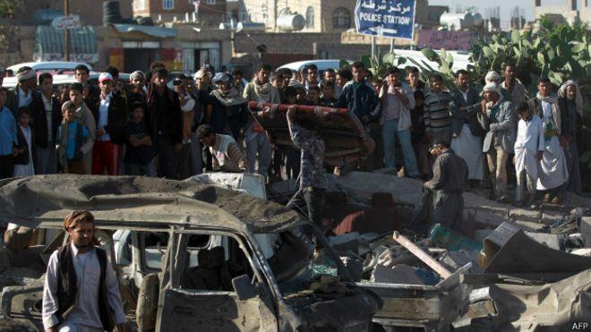 La situación en Yemen afecta a los intereses de varios países y distintos grupos de militantes.