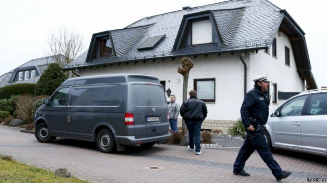 Дом, где жил Андреас Любиц
