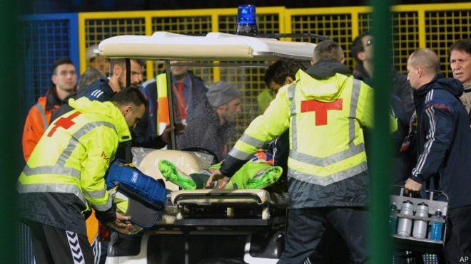 Взрывы, раны, нож – таков отчет с футбольного матча. Черногория – Россия. По следам ЧП