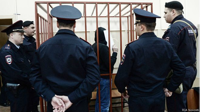 Обвиняемый Хамзат Бахаев