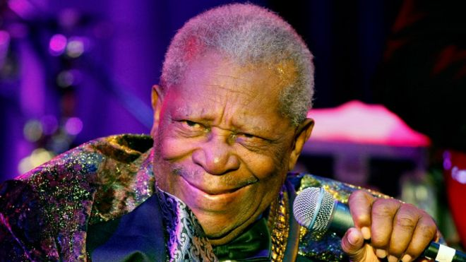 BB King, o Rei do Blues, morre aos 89 anos