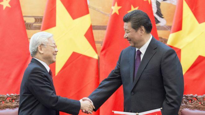 Nguyễn Phú Trọng thăm Trung Quốc
